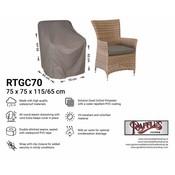 Raffles Covers Schutzhülle für Rattan Lounge Sessel 70 x 65 H: 95/65 cm
