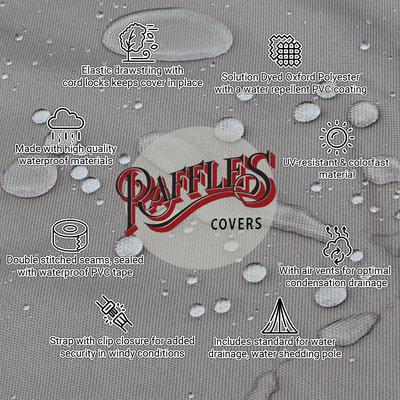 Raffles Covers !!PRE-ORDER - ABWEICHENDE LIEFERZEIT!! Loungemöbel Abdeckschutz L-Form 210 x 210 H: 70 cm