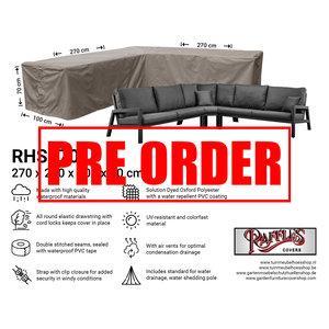 Raffles Covers !!PRE-ORDER!! Schutzhülle für Eck-Loungegruppe 270 x 270 x 100 H: 70 cm