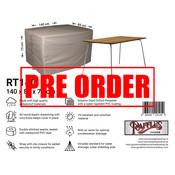 Raffles Covers !!PRE-ORDER - ABWEICHENDE LIEFERZEIT!! Abdeckung für Lounge Bank 140 x 85 H: 75 cm