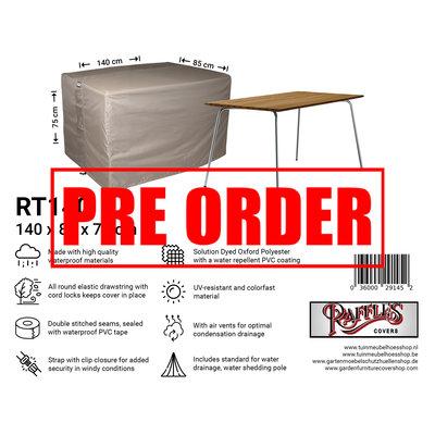 Raffles Covers !!PRE-ORDER - ABWEICHENDE LIEFERZEIT!! Abdeckung für Gartentisch 140 x 85 H: 75 cm