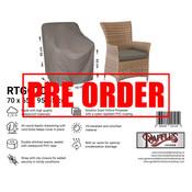 Raffles Covers !!PRE-ORDER - ABWEICHENDE LIEFERZEIT!! Abdeckhaube für Wicker Gartensessel 70 x 65 H: 95/65 cm