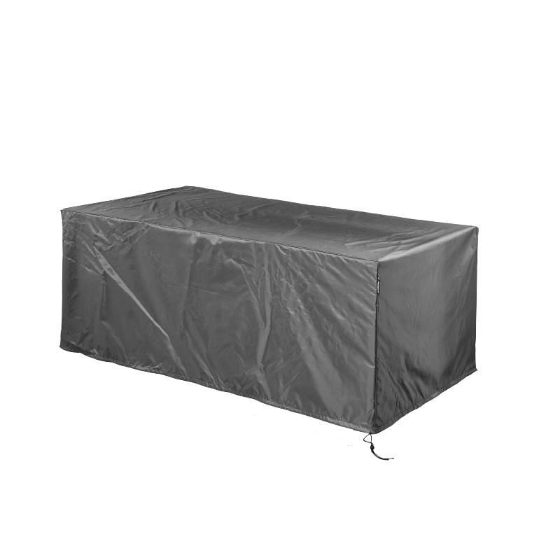 Schutzhülle Gartentisch 220x100.Wetterhaube Für Rechteckigen Gartentisch 220 X 110 H 70 Cm