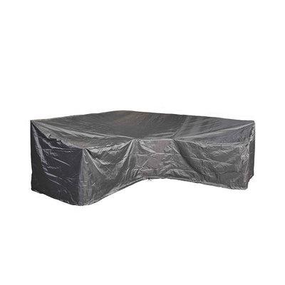 AeroCover Dining-Lounge-Möbel Abdeckhaube für L-Form Ecksofa 255 x 255 H: 90/65 cm