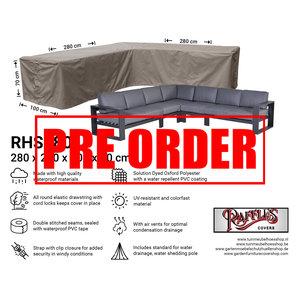 Raffles Covers !!PRE-ORDER!! Eck-Lounge-Hülle L-form 280 x 280 x 100 H: 70 cm