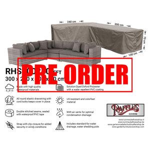 Raffles Covers !!PRE-ORDER!! Abdeckung für Lounge Eckset 300 x 240 x 100 H: 70 cm
