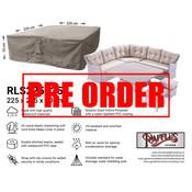 Raffles Covers !!PRE-ORDER - ABWEICHENDE LIEFERZEIT!! Schutzhaube für Garten-Lounge Garnitur 225 x 225 H: 70 cm