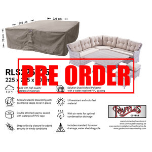 Raffles Covers !!PRE-ORDER!! Schutzhaube für Garten-Lounge Garnitur 225 x 225 H: 70 cm