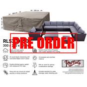 Raffles Covers !!PRE-ORDER - ABWEICHENDE LIEFERZEIT!! Abdeckplane für Lounge Sitzgruppe 300 x 250 H: 70 cm