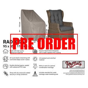 Raffles Covers !!PRE-ORDER!! Schutzhülle für Gartenstühle mit hoher Rückenlehne 95 x 85 H: 115/65 cm