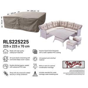 Raffles Covers Schutzhaube für Garten-Lounge Garnitur 225 x 225 H: 70 cm