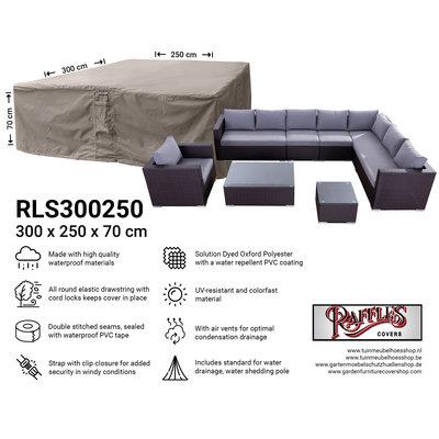 Raffles Covers Abdeckplane für Lounge Sitzgruppe 300 x 250 H: 70 cm