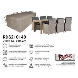 Raffles Covers Schutzhülle für Gartenmöbel Rechteckig 210 x 140 H: 85 cm