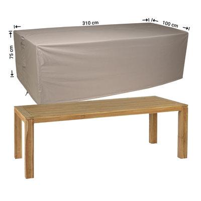 Raffles Covers Wetterschutz für Gartentisch 310 x 100 H: 75 cm