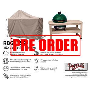 Raffles Covers !!PRE-ORDER!! Abdeckung für Green Egg BBQ 152 x 80 cm