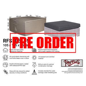 Raffles Covers !!PRE-ORDER!! Schutzhülle für Lounge Hocker 105 x 105 H: 45 cm