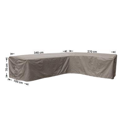 Raffles Covers !!PRE-ORDER - ABWEICHENDE LIEFERZEIT!! Schutzhülle für L-FormEcklounge 340 x 270 x 100 H: 70 cm