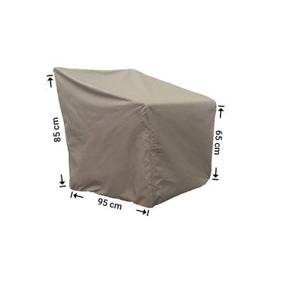 Raffles Covers Schutzhülle für Rattan Lounge Sessel 95 x 95 H: 85/65 cm