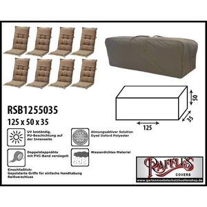 Raffles Covers Gartenkissen-Aufbewahrungstasche 125 x 35 x 50 cm