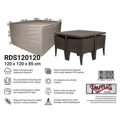 Raffles Covers Schutzhaube für kleine Sitzgruppe 120 x 120 H: 85 cm