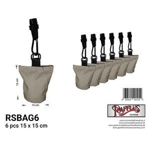Raffles Covers 6 Möbel Abdeckung Gewichte