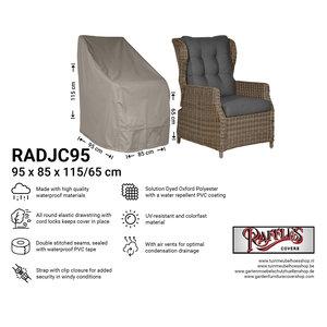 Raffles Covers Schutzhülle für Gartenstühle mit hoher Rückenlehne 95 x 85 H: 115/65 cm