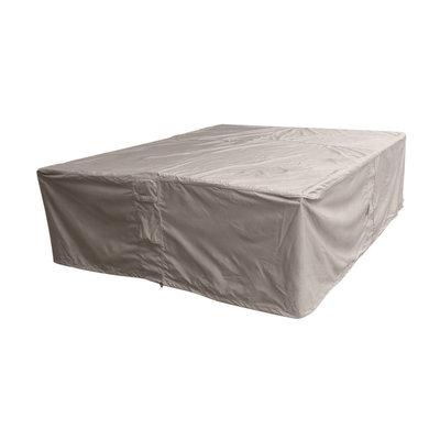 Raffles Covers Quadratische Lougeset-Abdeckung 250 x 250 H: 95 cm
