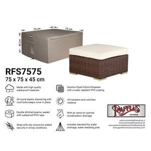 Raffles Covers Schutzhülle für Loungetisch, 75 x 75 H: 45 cm