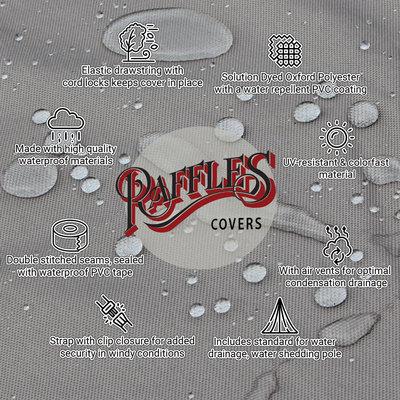 Raffles Covers Abdeckung für Lounge gedeckten Tisch 80 x 80 H: 45 cm