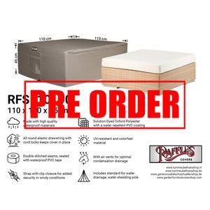 Raffles Covers !!PRE-ORDER!! Abdeckung für niedrigen Gartentisch, 110 x 110 H: 45 cm