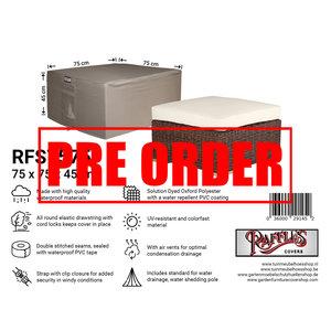 Raffles Covers !!PRE-ORDER!! Schutzhülle für Loungetisch, 75 x 75 H: 45 cm