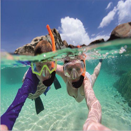 Snorkelcursus voor 4 personen