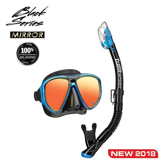 Powerview Adult Dry snorkelset