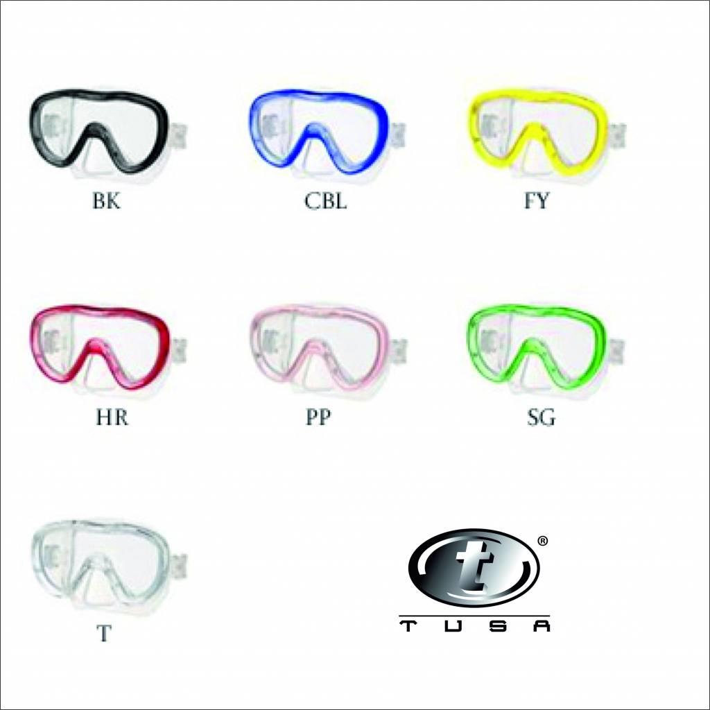 Tusa M111 Kleio II , duikbril en duikmasker voor duiken en snorkelen