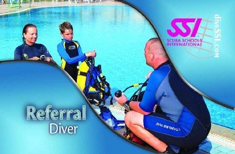 SSI open water referral duikopleiding