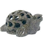 Schildkröte Undercut 7,5 cm Speckstein Indien