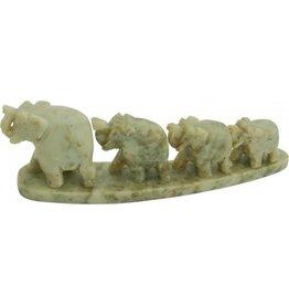 Elefantenreihe 4