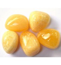 Trommelstein Orangencalcit