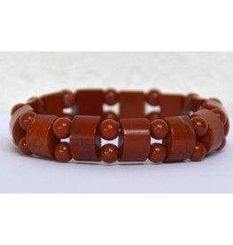 Fancy-Armband Roter Jaspis