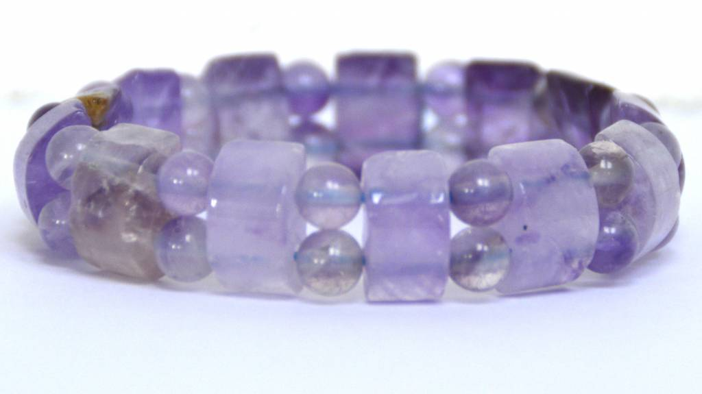 Amethyst-Fancy-Armband Stretch