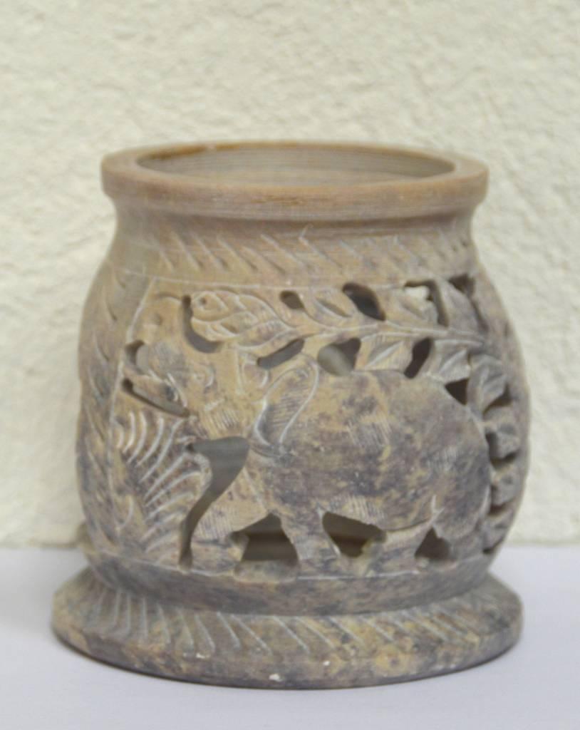 Aromalampe Elefant 10 - 12 cm