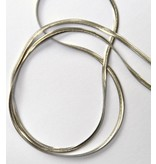 Schlangenkette schmal aus Edelstahl ca. 45 cm