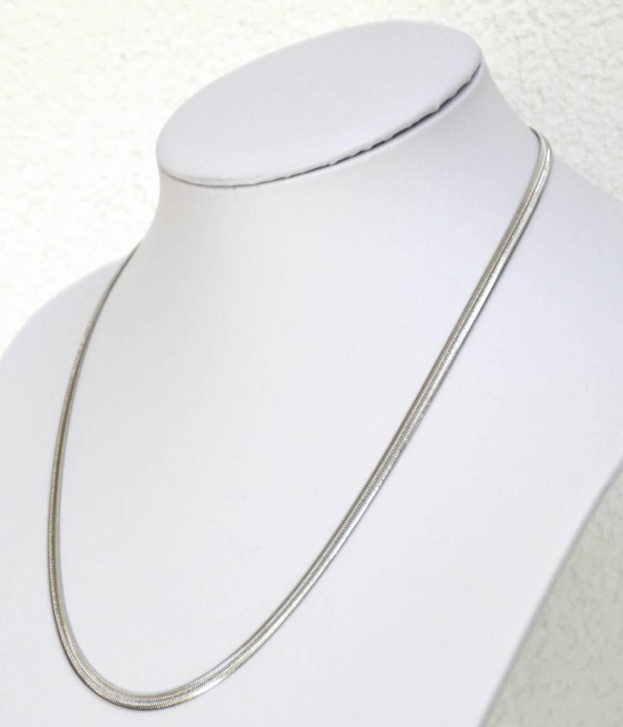 Schlangenkette aus Edelstahl ca. 50 cm
