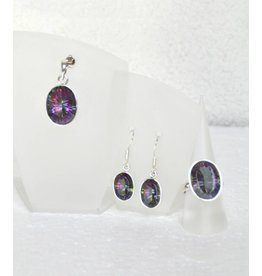 Set Mystic-Quarz Silber