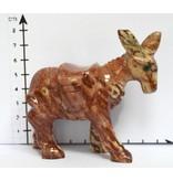 Esel Speckstein Peru ca. 7 cm