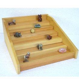 Stufen Setzkasten Holz