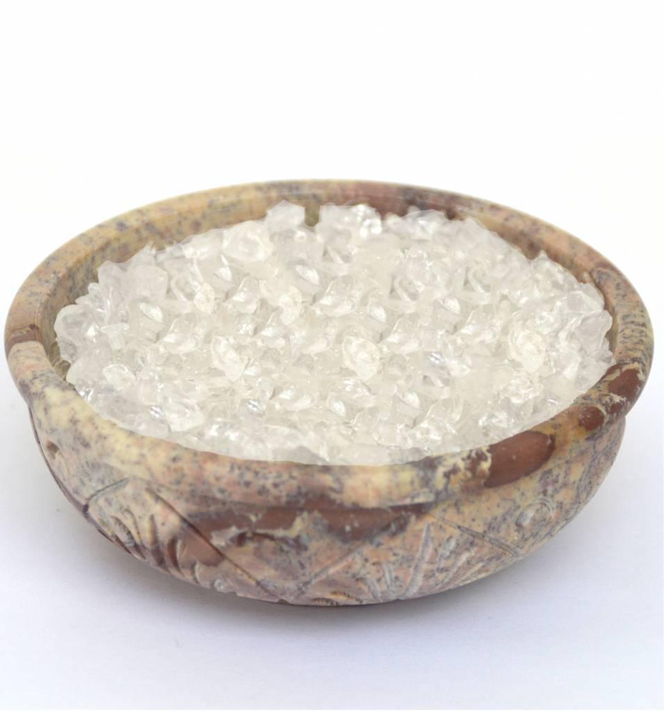 Bergkristall Chips zum Aufladen