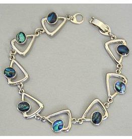Armband Paua Muschel Dreieck