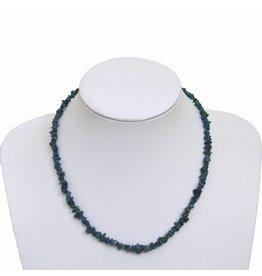 Splitterkette blauer Apatit 45 cm
