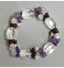 Bergkristall Fashion Armband